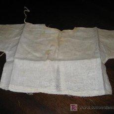Vestidos Muñeca Española Clásica: CAMISA DE BATISTA DE MUÑECO ANTIGUO, . Lote 27232568