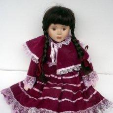 Vestidos Muñeca Española Clásica: PRECIOSA MUÑECA DE EPOCA. Lote 26431716