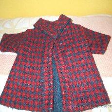 Vestidos Muñeca Española Clásica: ABRIGO DE MUÑECA CHELITO . Lote 20802952