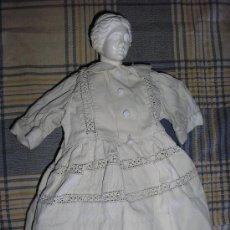 Vestidos Muñeca Española Clásica: MARIQUITA-1944-TRAJE BLANCO. Lote 26724771