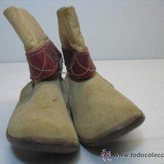 Vestidos Muñeca Española Clásica: MAGNIFICAS BOTAS DE PIEL . Lote 11013450