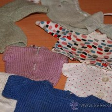 Vestidos Muñeca Española Clásica: LOTE DE ROPA DE MUÑECA DE LOS AÑOS 40 0 50 (TODO LO QUE VES ). Lote 20666535