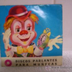Vestidos Muñeca Española Clásica: DISCO PARLANTE PARA MUÑECAS ANTIGUAS. Lote 27575252