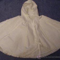 Vestidos Muñeca Española Clásica: ANTIGUA CAPA MUÑECA. Lote 27404906