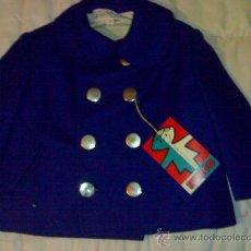Vestidos Muñeca Española Clásica: ANTIGUO CHAQUETON PARA NIÑO O MUÑECA GRANDE NUEVO A ESTRENAR AÑOS 50 Ó 60 NUEVO. Lote 28192813