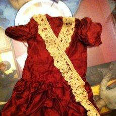 Vestidos Muñeca Española Clásica: ESPECTACULAR LOTE DE 3 VESTIDO DE MUÑECA PRINCIPIOS DE SIGLO, CONSULTAR PRECIOS POR UNIDAD. Lote 30137608