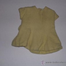 Vestidos Muñeca Española Clásica: VESTIDO ANTIGUO DE MUÑECA AÑOS 50-60. Lote 30280896