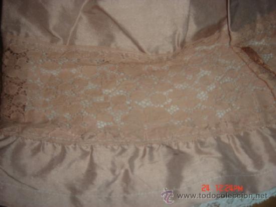 Vestidos Muñeca Española Clásica: VESTIDO PARA MUÑECA DE PORCELANA O CARTON PIEDRA,37LARGOX10 HOMBROX13X CINTURA13 MANGA X 60 VUELO - Foto 4 - 36869692