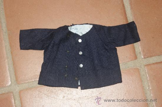 ANTIGUO ABRIGO DE MUÑECO, DE AÑOS 40 - 50 (Juguetes - Vestidos y Accesorios Muñeca Española Clásica (Hasta 1960) )