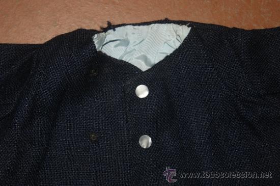 Vestidos Muñeca Española Clásica: Antiguo abrigo de muñeco, de años 40 - 50 - Foto 2 - 38592045