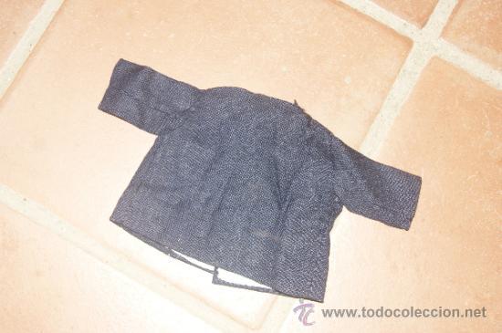 Vestidos Muñeca Española Clásica: Antiguo abrigo de muñeco, de años 40 - 50 - Foto 4 - 38592045