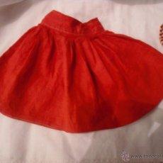 Vestidos Muñeca Española Clásica: FALDA FRUNCIDA ROJA. Lote 43160463