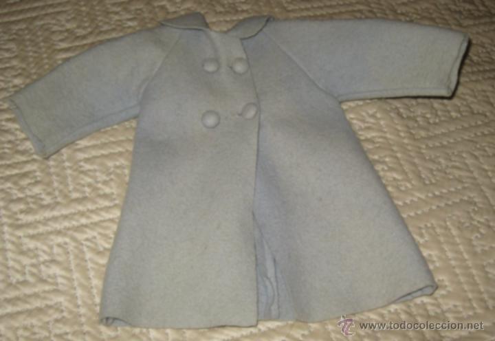 ABRIGO EN FIELTRO DE MARIQUITA PÉREZ AÑOS 50 (Juguetes - Vestidos y Accesorios Muñeca Española Clásica (Hasta 1960) )