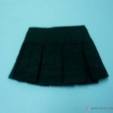 Vestidos Muñeca Española Clásica: FALDA PLISADA NEGRA PARA MUÑECA. Lote 44064022