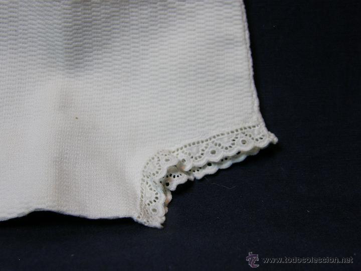 Vestidos Muñeca Española Clásica: pantalón de pique muñeco muñeca afelpado interior con puntilla principios siglo XX - Foto 8 - 44404271