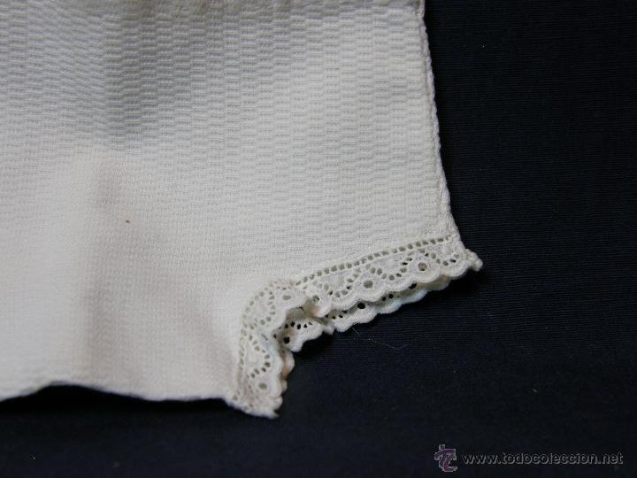 Vestidos Muñeca Española Clásica: pantalón de pique muñeco muñeca afelpado interior con puntilla principios siglo XX - Foto 9 - 44404271
