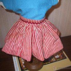 Vestidos Muñeca Española Clásica: FALDA DE MARIQUITA. Lote 45550306