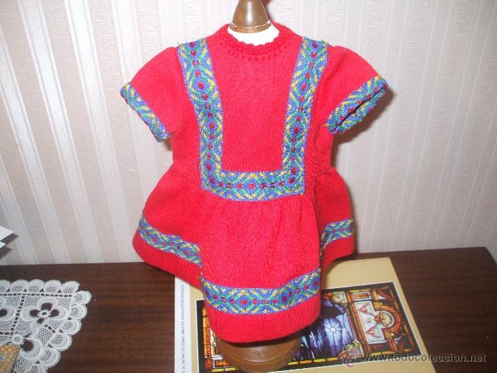 VESTIDO MUÑECA ANTIGUA TIPO CAYETANA (Juguetes - Vestidos y Accesorios Muñeca Española Clásica (Hasta 1960) )