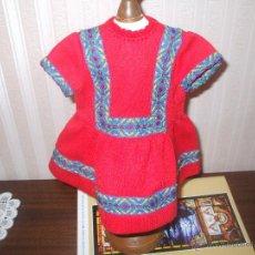 Vestidos Muñeca Española Clásica: VESTIDO MUÑECA ANTIGUA TIPO CAYETANA. Lote 45550317