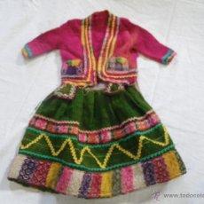 Vestidos Muñeca Española Clásica: MUY ANTIGUO VESTIDO REGIONAL .. . Lote 46063405