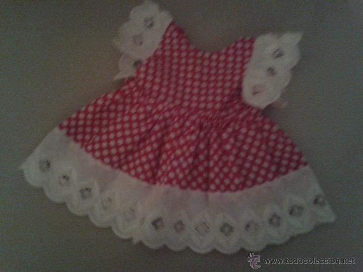 precioso vestido de mariquita perez fabricacin casera con aos