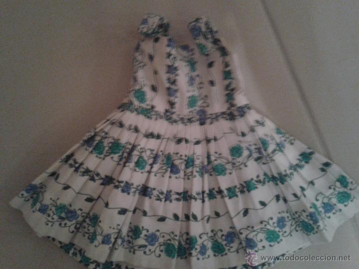 Vestidos Muñeca Española Clásica: VESTIDO DE MARIQUITA PEREZ ,3º EPOCA ,REGORDITA DE PELO CORTO)CON CAPA A JUEGO. - Foto 2 - 46519982