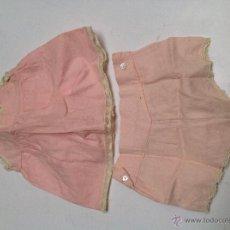 Vestidos Muñeca Española Clásica: COLECCIÓN DE ROPITA INTERIOR Y ACCESORIOS EN FINAS TELAS, ENCAJES Y BORDADOS. AÑOS 40. Lote 47750817