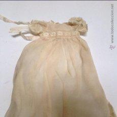 Vestidos Muñeca Española Clásica: COLECCIÓN DE VESTIDOS DE EXCELENTE Y DELICADA MANUFACTURA. AÑOS 40. Lote 47750468