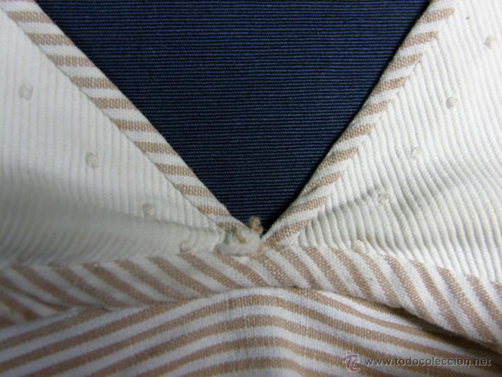 Vestidos Muñeca Española Clásica: camisa camisón delantal bebe rayas cosido mano mitad s XX 28x40cms - Foto 7 - 49737483