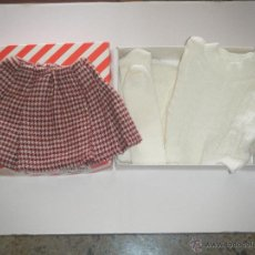 Vestidos Boneca Espanhola Clássica: CONJUNTO DE FALDA, JERSEY Y LEOTARDOS EN LANA ORIGINALES DE MARIQUITA PEREZ. Lote 49758991