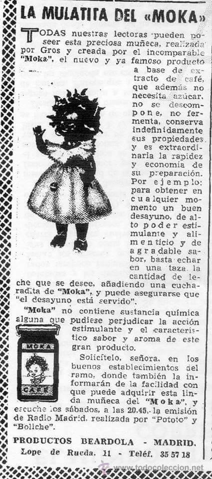 Vestidos Muñeca Española Clásica: Impresionante muñeca de Pedro Gros Negrita de Moka.(pago aplazado). - Foto 6 - 52651833