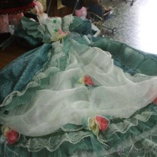 Vestidos Muñeca Española Clásica: VESTIDO DE EPOCA ,PARA MUÑECA ANTIGUA DE TAMAÑO BASTANTE GRANDE ,COMO DE 70 CEN ,MUY BONITO.. Lote 53217078