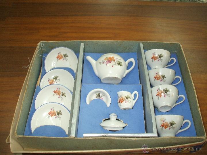 Vestidos Muñeca Española Clásica: Juego de cafe ,años 40 ,porcelana ,en su propia caja ,completo y bien conservado (ver fotos adiciona - Foto 2 - 53643228