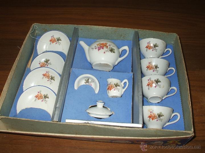 Vestidos Muñeca Española Clásica: Juego de cafe ,años 40 ,porcelana ,en su propia caja ,completo y bien conservado (ver fotos adiciona - Foto 3 - 53643228