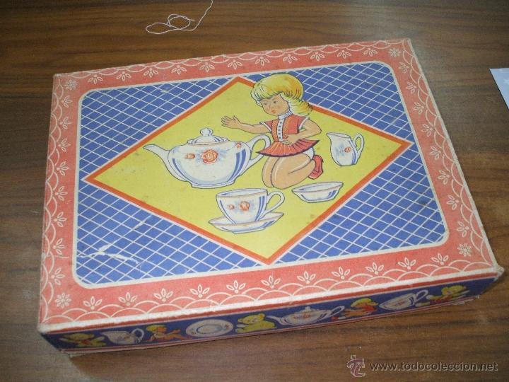 Vestidos Muñeca Española Clásica: Juego de cafe ,años 40 ,porcelana ,en su propia caja ,completo y bien conservado (ver fotos adiciona - Foto 4 - 53643228