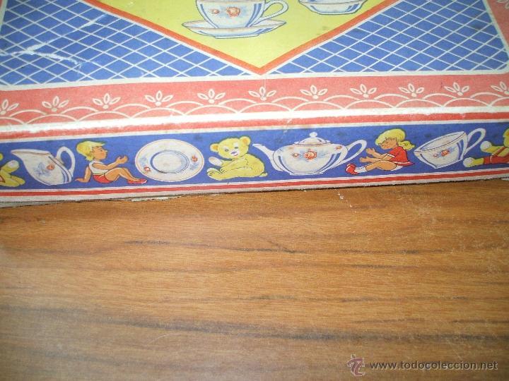 Vestidos Muñeca Española Clásica: Juego de cafe ,años 40 ,porcelana ,en su propia caja ,completo y bien conservado (ver fotos adiciona - Foto 5 - 53643228