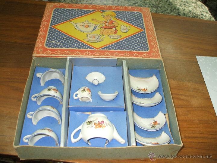 Vestidos Muñeca Española Clásica: Juego de cafe ,años 40 ,porcelana ,en su propia caja ,completo y bien conservado (ver fotos adiciona - Foto 6 - 53643228