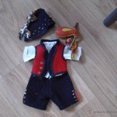 Vestidos Muñeca Española Clásica: TRAJE REGIONAL ASTURIAS/GALICIA. Lote 54227066
