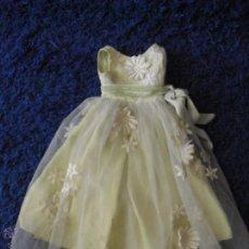 Vestidos Muñeca Española Clásica: VESTIDO PUESTA DE LARGO MARIQUITA PEREZ. Lote 54247668