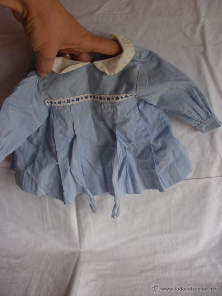 Vestidos Muñeca Española Clásica: Vestido o Trajecito de colegial para muñeca o muñeco Mariquita Pérez o POSIBLE JUANIN - Foto 3 - 54422269