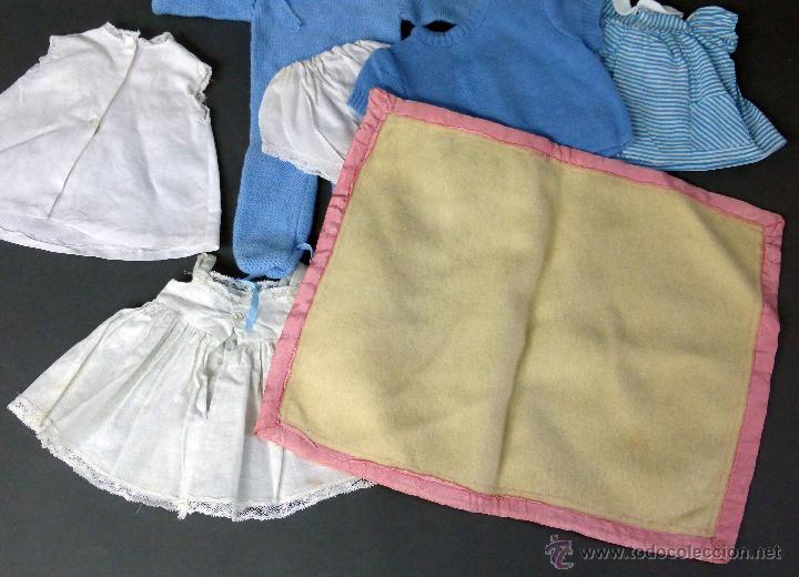 Vestidos Muñeca Española Clásica: 7 prendas muñeca muñeco años 50 pelele vestidos manta baby - Foto 3 - 55029774