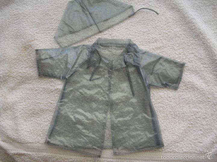 IMPERMEABLE MARIQUITA PEREZ (Juguetes - Vestidos y Accesorios Muñeca Española Clásica (Hasta 1960) )