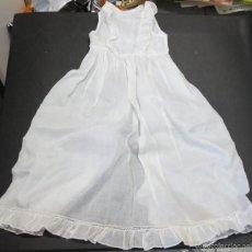 Vestidos Muñeca Española Clásica: VESTIDO FALDÓN MUÑECA AÑOS 50-60. Lote 56636382