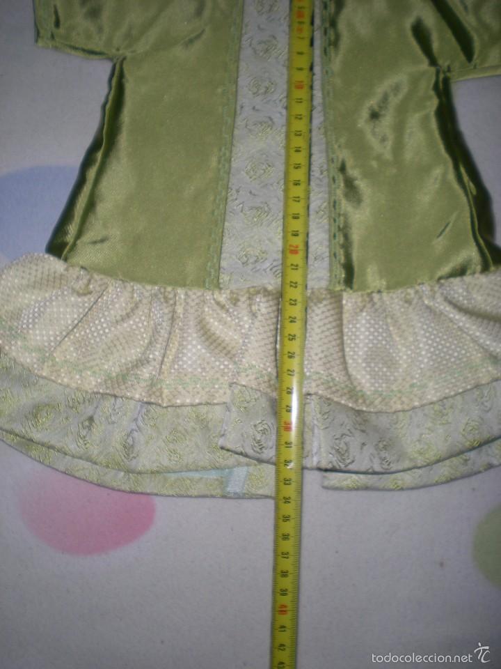 Vestidos Muñeca Española Clásica: bonito vestido antiguo para muñecas grandes restos de fabrica - Foto 2 - 56671644