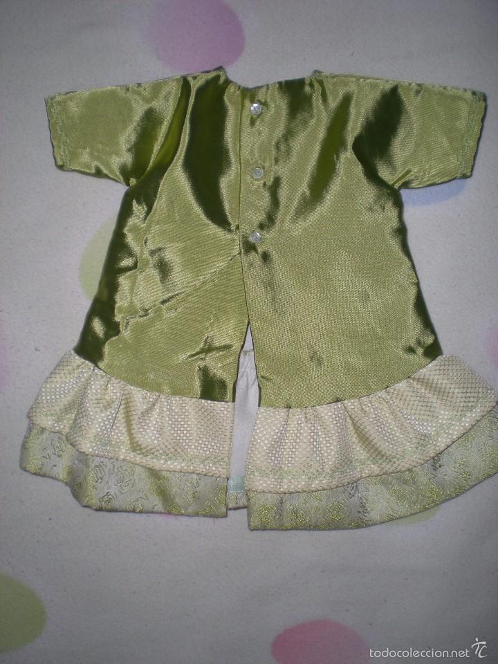 Vestidos Muñeca Española Clásica: bonito vestido antiguo para muñecas grandes restos de fabrica - Foto 4 - 56671644