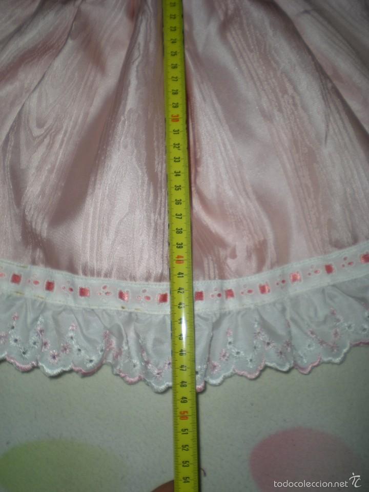 Vestidos Muñeca Española Clásica: bonito vestido antiguo para muñecas grandes restos de fabrica - Foto 2 - 231466595