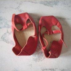 Vestidos Muñeca Española Clásica: ANTIGUOS ZAPATOS DE PIEL PARA MUÑECA. Lote 57022382
