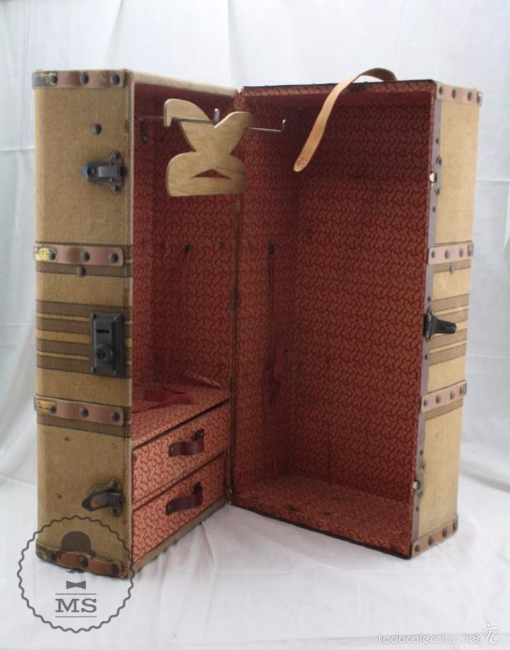 Antiguo ba l armario de juguete para mu ecas comprar - Armario para juguetes ...