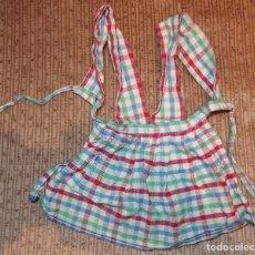 Vestidos Muñeca Española Clásica: DELANTAL DE CAYETANA,AÑOS 40. Lote 61646880