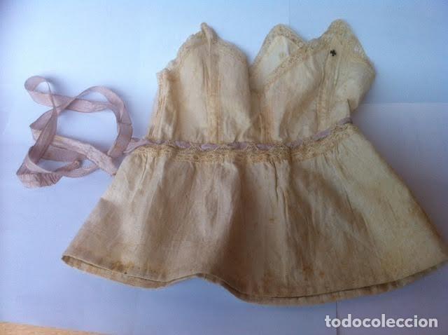 VESTIDO PRINCIPIOS SIGLO PARA MUÑECA PORCELANA O DE LAS MUY ANTIGUAS, (Juguetes - Vestidos y Accesorios Muñeca Española Clásica (Hasta 1960) )